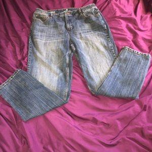 Liz Claiborne size 14 tapered  leg jeans size 14